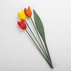 Fleur En Bois : tulipe en bois ~ Dallasstarsshop.com Idées de Décoration