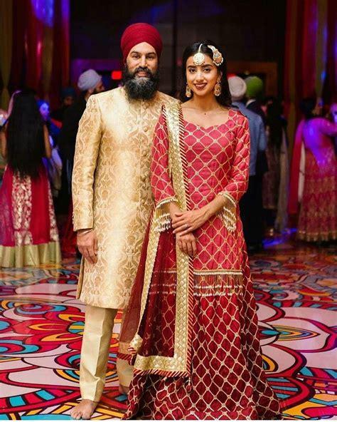 pin  jkaur  punjabi wedding indian wedding outfits