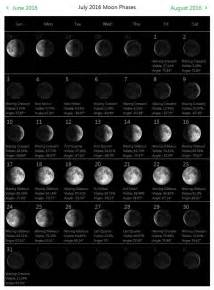 july  moon phases calendar printable monthly