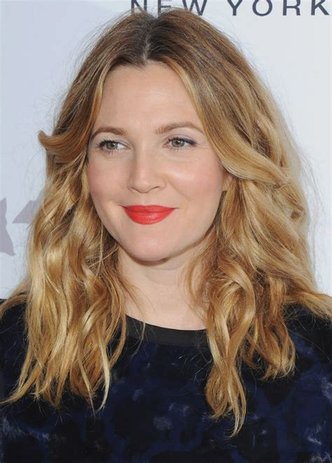 beauty products drew barrymore   vogue