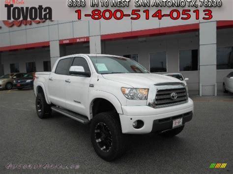 Toyota Tundra Crewmax 4x4 For Sale by 2009 Toyota Tundra Limited Crewmax 4x4 In White