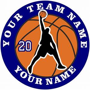 Customized Basketball logo