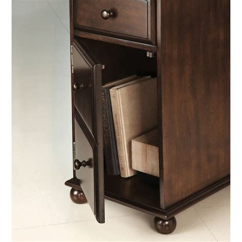 furniture of america meekal antique oak storage magazine