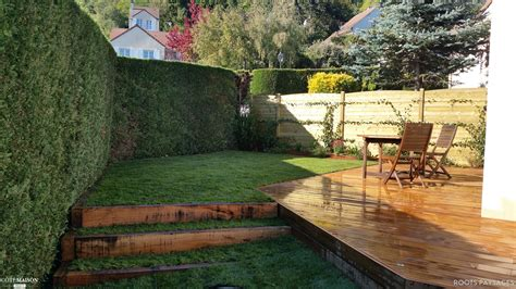 cuisine pin massif aménagement jardin roots paysages côté maison