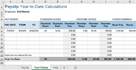 The monthly salary that is credited to your bank account is always less than what you signed up for in the employment offer letter. 11 Payslips Template Free - Excel Templates - Excel Templates