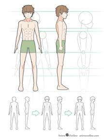 Anime Body Step by Step Drawing