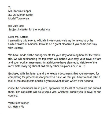Covering Letter For Visa by Marvelous Invitation Letter Sle For Visa Switzerland