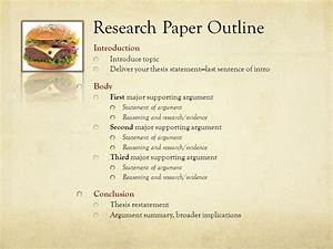 Outline Thesis Paper