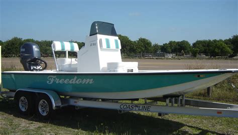 Wide Flats Boats by Freedom 22 Foot Tcc Freedom Boats Shallow Water