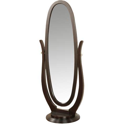 floor mirror oval worldwide homefurnishings oval floor mirror reviews wayfair