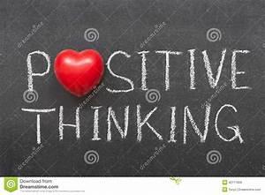 Positive Thinking Stock Photo - Image: 42111659