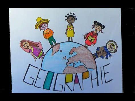 dessin page garde du cahier geographie  imprimer youtube