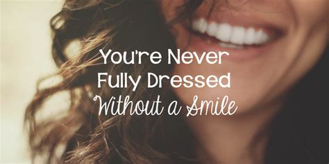 youre  fully dressed   smile lies young