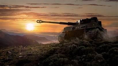 Sunset Tanks Tank Desktop
