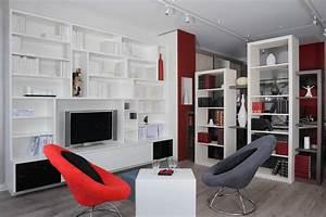 Meuble De Rangement Salon : meubles tv meubles de salon et rangements sur mesure ~ Dailycaller-alerts.com Idées de Décoration