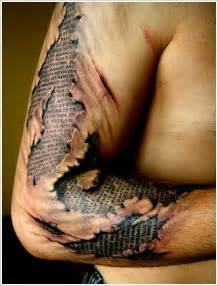 skin design ripped skin free design