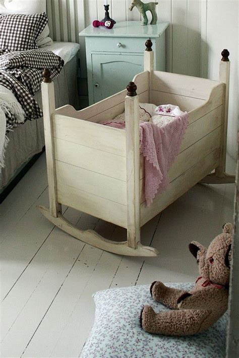 adorable  wooden crib     baby