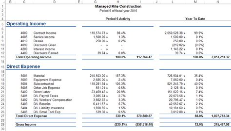 financial statements event  software