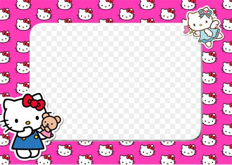 kitty picture frames animation  png