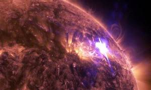NASA Captures Incredible 4K Footage of a Recent Solar Flare
