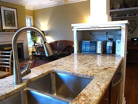 appliance garage love     kitchen shaker