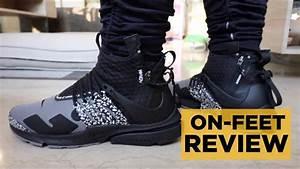 Nike Acronym Presto Mid Cool Grey On-Feet Review - YouTube  Mid