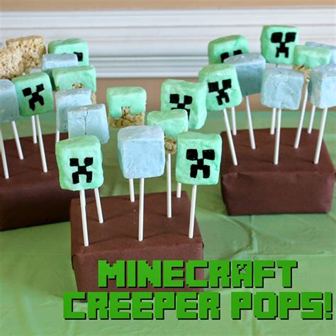 craft food ideas doodlecraft minecraft birthday food 1499