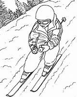 Skiing Coloring Ski Draw Pages Drawing Lift Doo Sheet Jet Sketch Sky Getdrawings Printable Template Getcolorings Fun sketch template