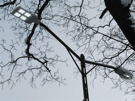 Новые светодиодные лампы powerleds e40 для уличного освещения.