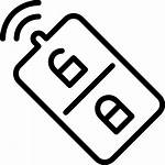 Remote Security Icon Lock Key Control Icons