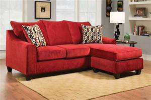 Red sofa with chaise red leather sectional sofa clearance for Sectional sofa with chaise clearance