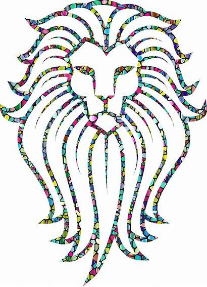 Lion Clipart Abstract Transparent Face Tattoo Webstockreview