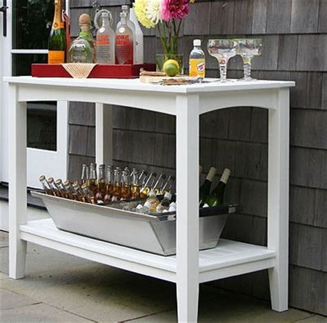 seaside casual buffet table patio furniture and