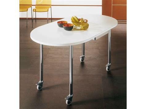 tavolo con ribalta tavolo a ribalta con ruote free by bontempi casa