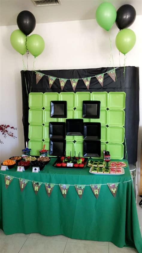 minecraft birthday minecraft party ideasminecraft