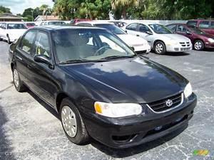 Toyota Corolla 2002 : 2002 black sand pearl toyota corolla ce 32808541 car color galleries ~ Medecine-chirurgie-esthetiques.com Avis de Voitures