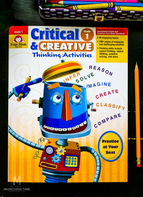 creative  critical thinking activity book  kids