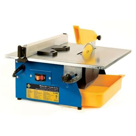 qep master cut 3 5 hp wet tile saw with 7 in diamond
