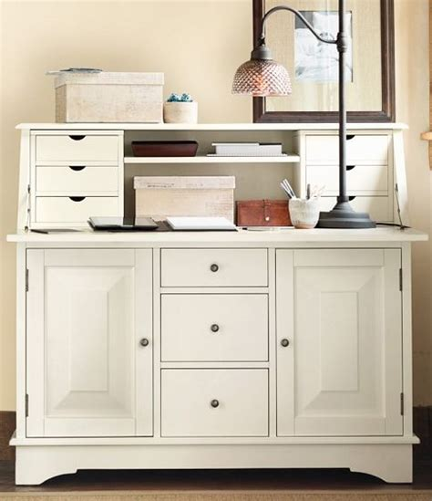 Desk With Hutch Pottery Barn by Graham Desk Hutch Pottery Barn For The Home