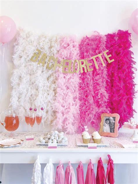 easy bridal shower  bachelorette party decorations
