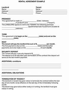 rental agreement template 8ws templates forms free With product rental agreement template