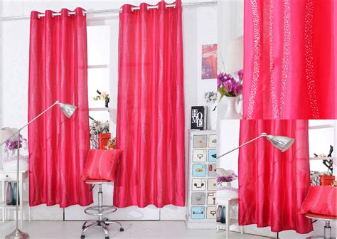 clearance diamante pink panel curtains  home