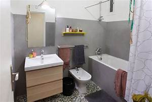 masqu39carrelage renovation facile maison deco With enduit mural salle de bain