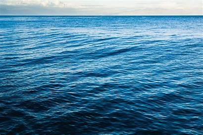 Sea Water Waves Open Surface Background Ocean
