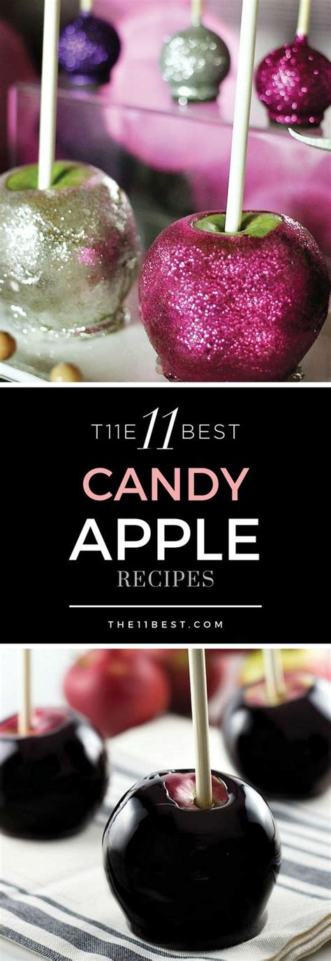 Candy Apples Recipe Best Candy And Apple Recipes On Pinterest