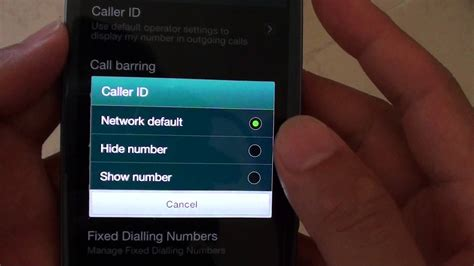 phone number disguiser samsung galaxy s3 how to hide show phone number when