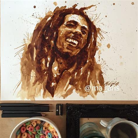 amazing coffee painting  maria  aristidou stampede