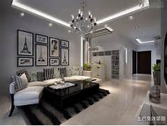 Modern Look Living Room by Modern Style Living Room Ceiling Decoration Effect Chart Appreciation Livin