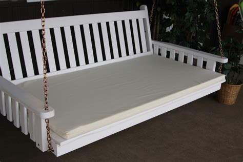 swingbed cushion 5 4 inch thick 187 amish woodwork