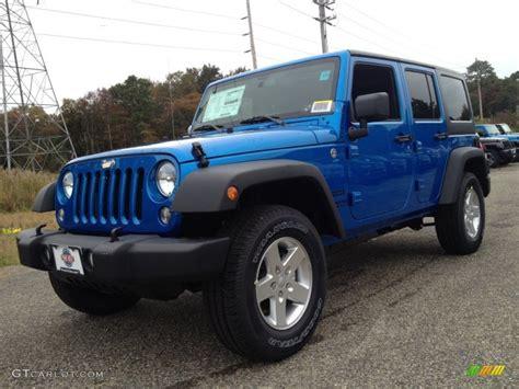 hydro blue jeep 2015 hydro blue pearl jeep wrangler unlimited sport 4x4